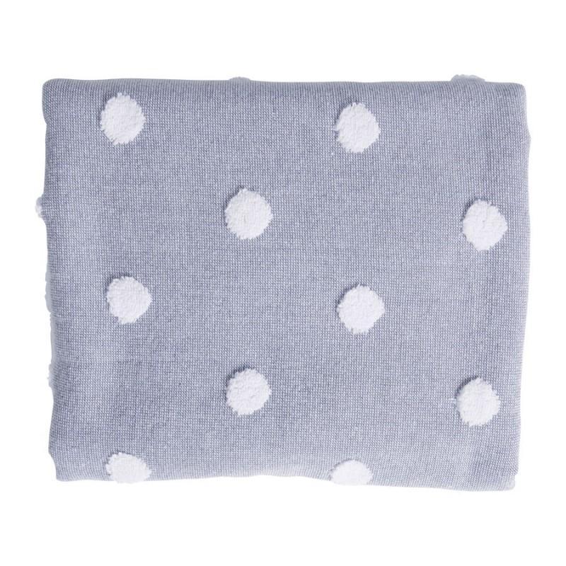 Drap de bain bleu OTELLO 100x150