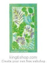 Drap de plage Tahiti
