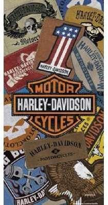 Serviette de plage Harley-Davidson