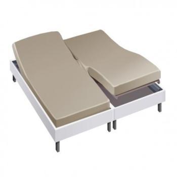 Drap housse pour lit articulé