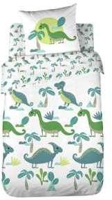 Drap housse 100 coton dinosaure