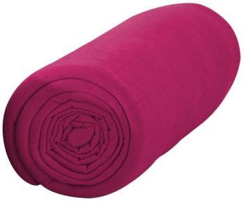 Drap housse rose Happy - coton