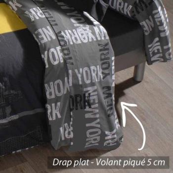 Drap plat 240x310 cm 100 coton