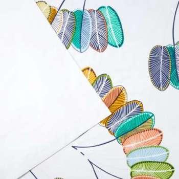 Drap plat Papagayo - 180 x