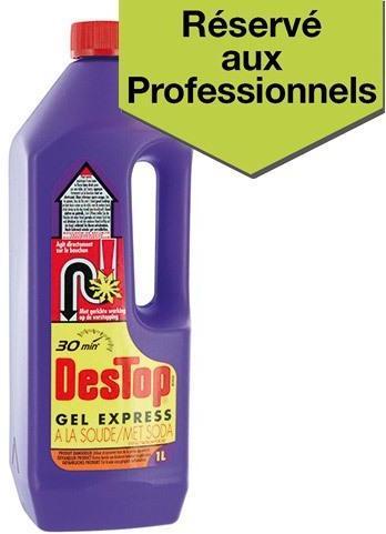 Déboucheur Destop gel express