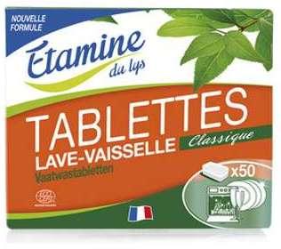 Tablettes lave-vaisselle classique