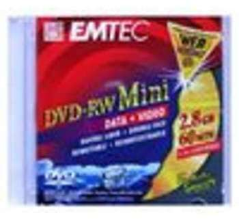 DVD-RW Mini 8cm 2 8Go 60min