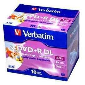 DVD R 8 5Go DL 8x Verbatim
