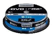 Lot 10 dvd r dl 8 5go print