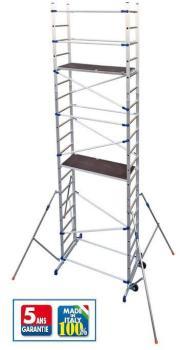 Echafaudage pour escalier