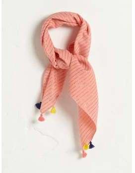 Foulard irisé fille rose
