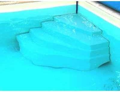 Escalier piscine Cybele Hauteur