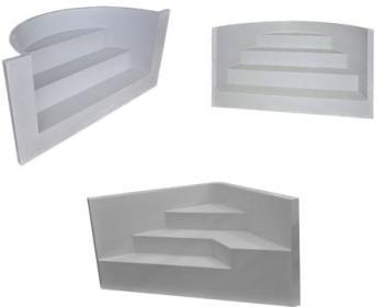 Escalier panneau sous liner
