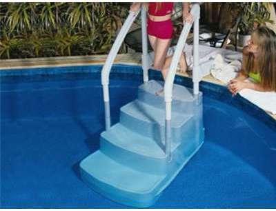 Innovaplas echelle innova deck pour piscine hors sol for Piscine hors sol avec escalier interieur