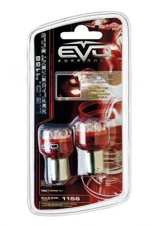 Ampoule led BA15S 1plot rouge