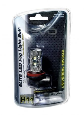 Ampoule led 12 24V 50w H11