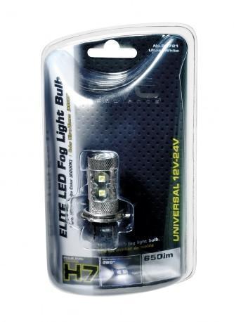 Ampoule led 12 24V 50w H7