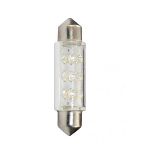 Ampoule LED C5W 41mm 24V 6x