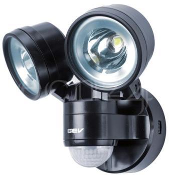 Double spot LED avec détecteur