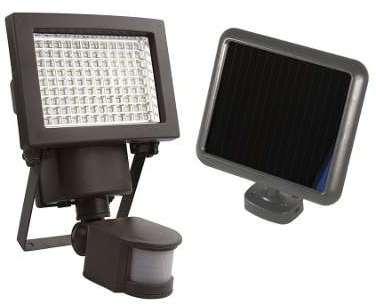 Projecteur solaire à détection