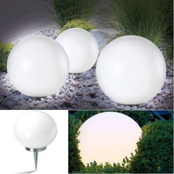 Lampe boule 30 cm solaire