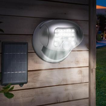 Projecteur solaire 20 leds