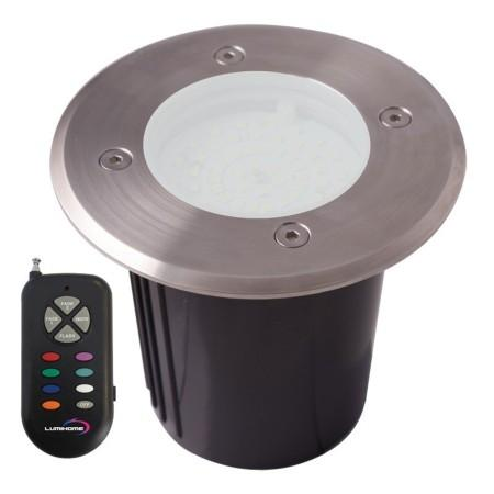 Lumihome cmini sol kit 6 spots extrieurs encastrables le for Spot encastrable exterieur solaire
