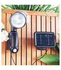 Lampe solaire murale à détecteur