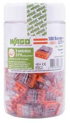 WAGO S2273 100 mini bornes