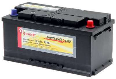 Batterie 12V 90Ah 770A remplie