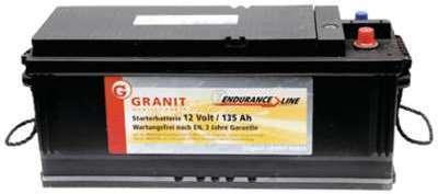 Batterie 12V 135Ah 910A remplie