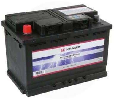 Batterie remplie 12V 70Ah