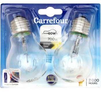 Ampoules 46W 230V Carrefour