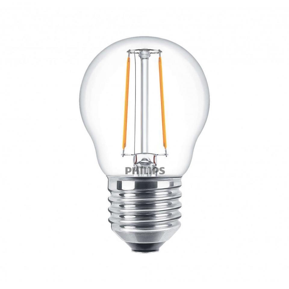 philips ampoule led claire p45 e27 4w. Black Bedroom Furniture Sets. Home Design Ideas
