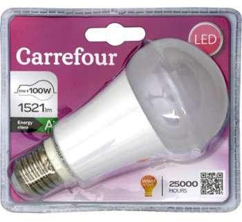 Ampoule Led E27 15W 240V Carrefour