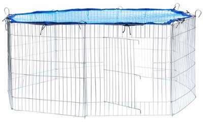 Cage Enclos d Extérieur Grillagé