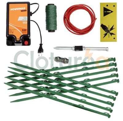 Kit clôture électrique sur