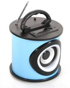 Enceinte Bluetooth cylindrique