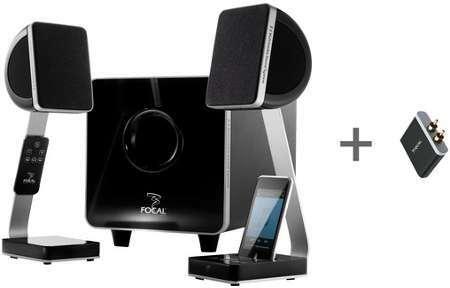 focal support denceinte stand s700v black x2. Black Bedroom Furniture Sets. Home Design Ideas