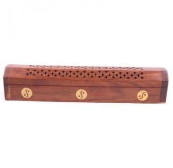Boîte Porte encens en bois