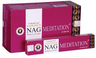 Encens Golden Nag Meditation