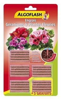 25 Bâtonnets Engrais Géraniums
