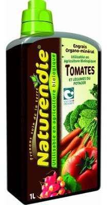 Engrais tomates et légumes
