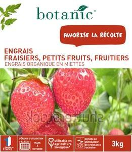 Engrais fraisiers petits fruits