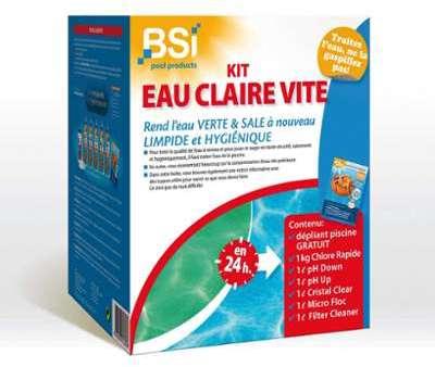 Kit Eau Claire Vite pour Piscine
