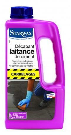 DECAPANT LAITANCE DE CIMENT