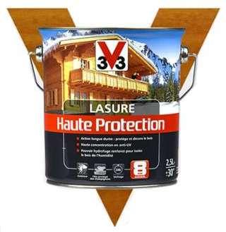 Lasure bois haute protection