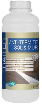 Anti-termite sols et murs