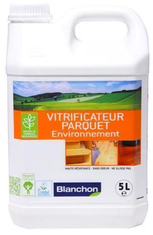 Vitrificateur parquet environnement