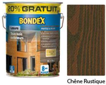 Lasure BONDEX 8 ans teinte